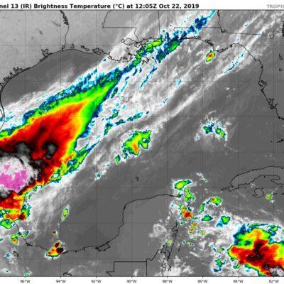 PRONÓSTICO DEL CLIMA: Onda tropical 46 genera lluvias en Quintana Roo