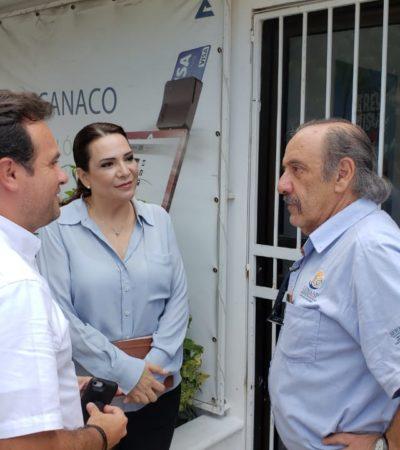Llega titular de Conanp a Cozumel para discutir manejo del arrecife
