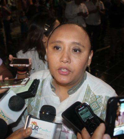"""""""ESTÁ EN NUESTRAS MANOS ALZAR LA VOZ"""": Llama Cristina Torres a diputados federales a dar la pelea para que no se recorte el presupuesto a Quintana Roo"""