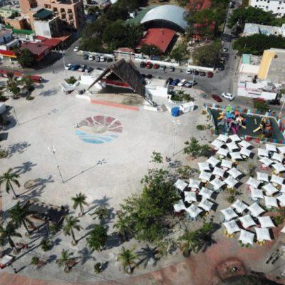 Buscan cambiar condiciones de permisos y horarios de comerciantes en el parque Las Palapas