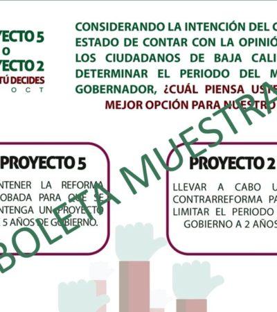 Descalifica el INE consulta en Baja California