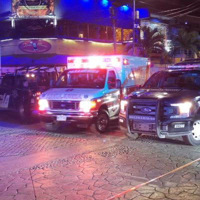 Ejecutan durante la madrugada a hombre en bar 'Murciélago' de Playa del Carmen
