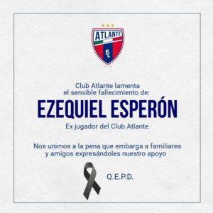 Fallece jugador del Atlante al caer de un sexto piso en Argentina; estaba cedido al Gremio de Brasil