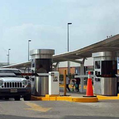 Anuncian revisión de estacionamientos en Cancún