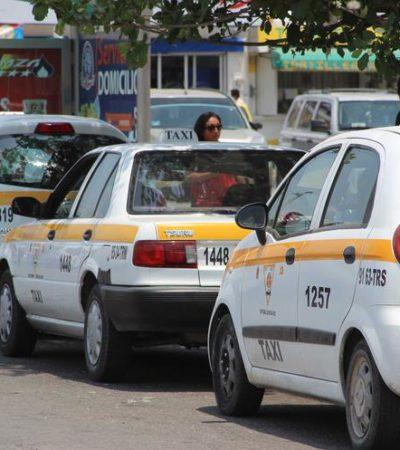 Esperan taxistas que se publiquen las nuevas tarifas de transporte de pasajeros para empezar a aplicarlas