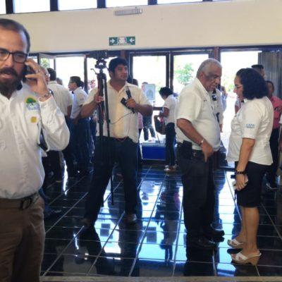 Lleva Gerardo Mora a su 'porra' al Congreso del Estado