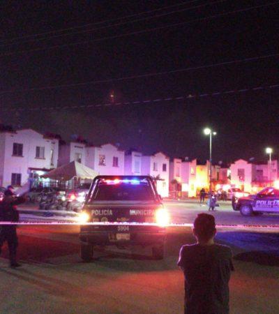 ACTUALIZACIÓN | ENFRENTAMIENTO EN VILLAS OTOCH PARAÍSO: Saldo de dos ejecutados y tres heridos en jueves por la noche en Cancún