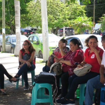 Posponen maestros de Conalep segunda marcha contra autoridades educativas por represión laboral y adeudo de estímulos económicos
