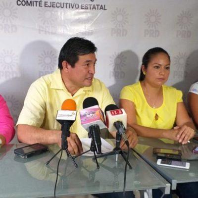 ES UNA VERGÜENZA: Critican integrantes del PRD en QR actuación del Gobierno Federal en la liberación de Ovidio Guzmán en Culiacán