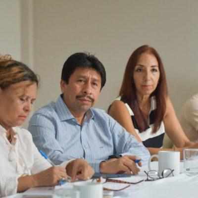 Ayuntamiento de Tulum, ingenieros y arquitectos acuerdan impulsar el crecimiento del municipio