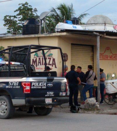 Hieren a balazos a un repartidor de tortillas en la Región 103 de Cancún