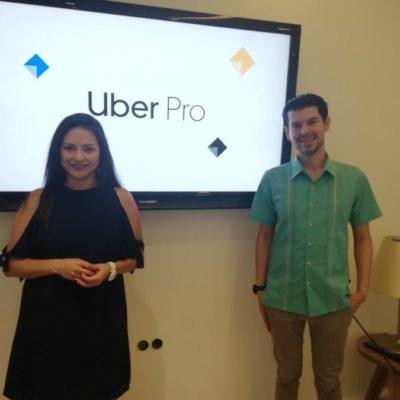 Uber Pro abre sus puertas a todos los que busquen beneficios, incluidos taxistas si cumplen con filtros de seguridad, afirma la empresa