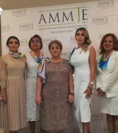 Las mujeres están presentes en la actividad económica del país, pese a desafíos que enfrenta México actualmente: AMMJE