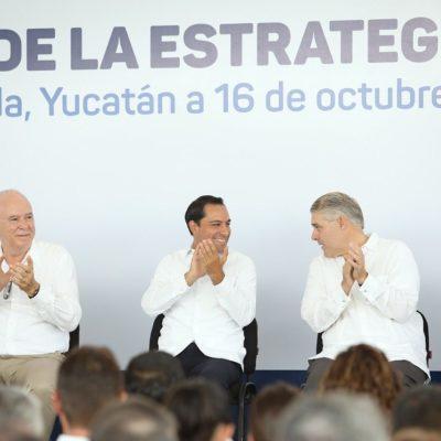 Presenta Vila Dosal la estrategia Hambre Cero para reducir la carencia alimentaria en Yucatán