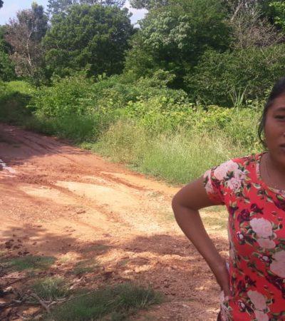 Piden familias de colonia irregular Las Palmas ayuda para habilitar un camino y empezar a salir de la marginación en JMM