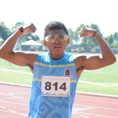 Gana cozumeleño medalla en la Paralimpiada Nacional