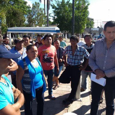 Le reclaman a 'Chac-Mex' que cumpla compromisos de campaña
