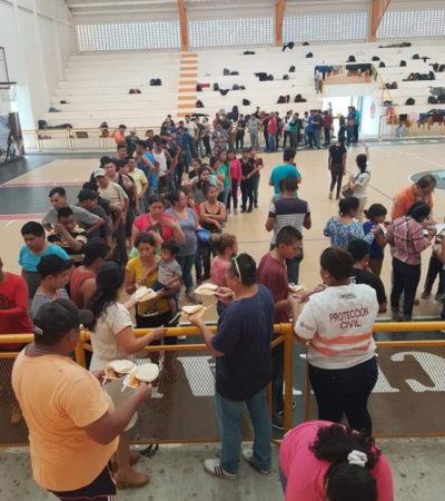 Aseguran a 280 migrantes centroamericanos en Chiapas; detienen a tres conductores de tráileress