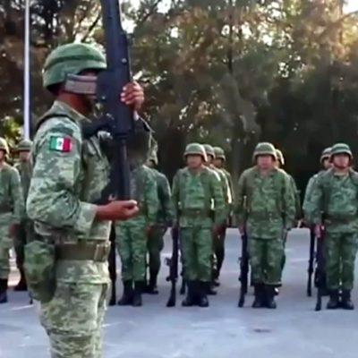 HUYEN EN CULIACÁN FAMILIAS DE MILITARES: Tras el fallido operativo para detener al hijo de 'El Chapo', abandonan unidad habitacional del Ejército