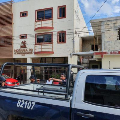 Acusan a ministeriales de supuestamente robarse 50 mil pesos en Playa del Carmen