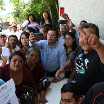 Revientan asambleas distritales de Morena en el Carmen y Campeche por padrón 'rasurado'