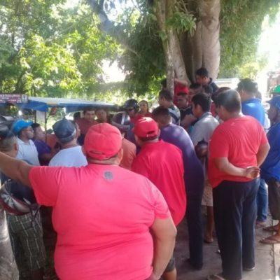 Mototaxistas de Kantunilkín amenazan con tomar medidas drásticas para que salgan de circulación unidades de la CROM