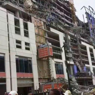 VIDEO   Colapsa un hotel en construcción en Nueva Orleans