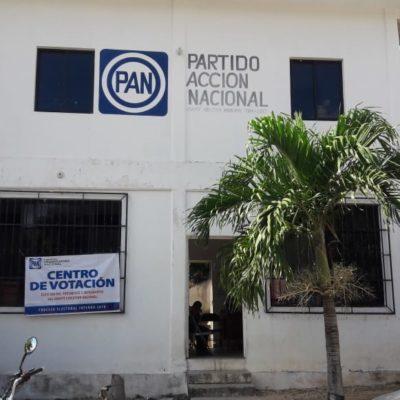 Se inscriben tres por la dirigencia del PAN en Quintana Roo