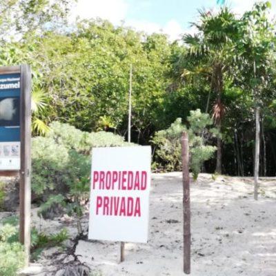 En Cozumel no se permitirán desarrollos en áreas naturales protegidas, advierte la Conanp y el gobierno municipal