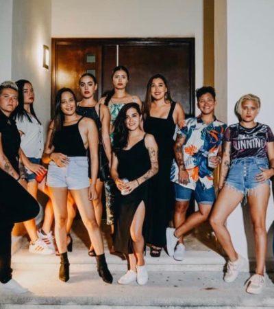 Graban 'reality show' lésbico en Cancún que se transmite por YouTube
