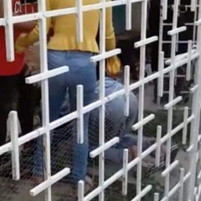 Disparan a mujer a las puertas de su casa en Tabasco; familiares tratan de abandonar imagen de la santa muerte