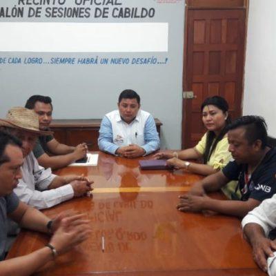 Se reúne personal del Ayuntamiento de JMM con ejidatarios para discutir regularización de tres colonias, sin llegar a acuerdo