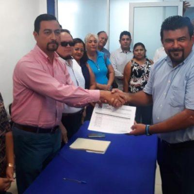 Se registra Faustino Uicab como precandidato a la dirigencia estatal del PAN en Quintana Roo