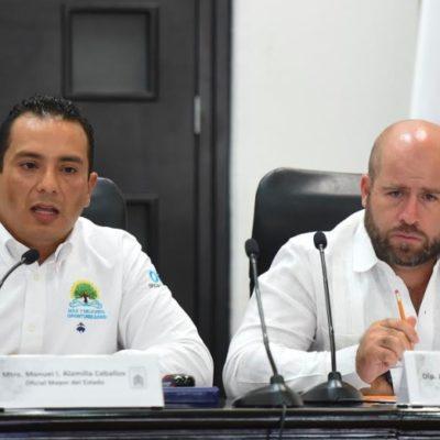 COMPARECE OFICIAL MAYOR EN EL CONGRESO: Piden legisladores a Manuel Alamilla garantice cumplimiento de la ley en contrataciones