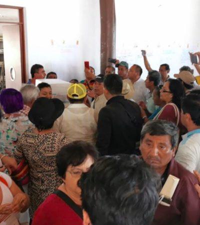 """""""TODOS LE ENTRARON AL FRAUDE EN MORENA"""": Fernanda Trejo, Reyna Durán y Marybel Villegas, son las principales señaladas de las irregularidades cometidas en la elección interna en Quintana Roo"""