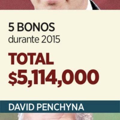 Se pagan millones Penchyna y Murat