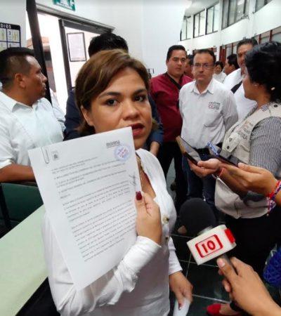 TENSIÓN EN EL CONGRESO POR DISPUTA DE MORENA: Reyna Durán busca sustituir a Edgar Gasca al frente de la bancada y de la Jugocopo