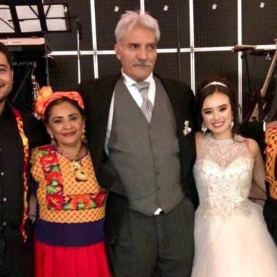 VIDEO | Se casa José Manuel Mireles con una jovencita de 21 años de edad