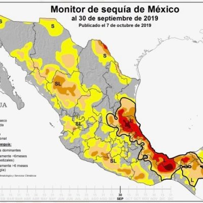Sequía ha dañado al 95 por ciento de cultivos en José María Morelos