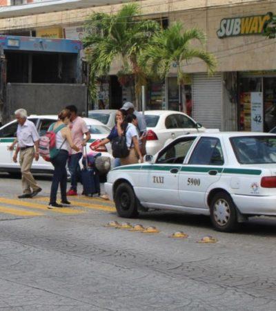 Se niegan sindicatos de taxistas a aplicar las tarifas publicadas hace dos meses por el Imoveqroo