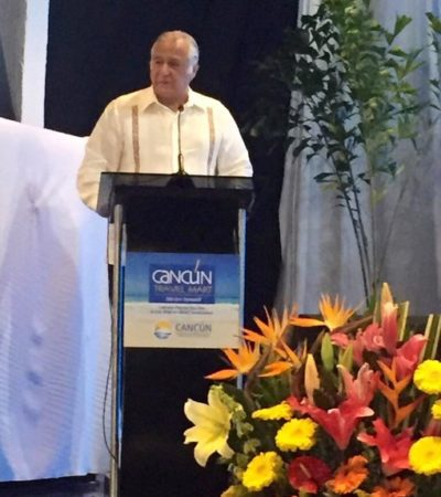 Propone Miguel Torruco al sector empresarial construir una pista para traer la carrera Nascar a Cancún o Playa del Carmen