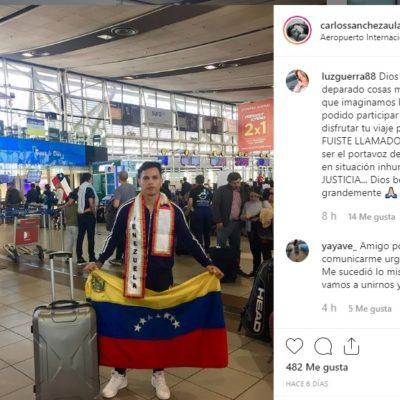 Venezolano denuncia robo, vejaciones y encierro en aeropuerto de Cancún; Asur se deslinda