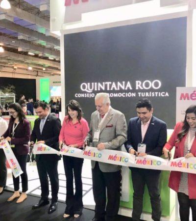 Busca el Caribe Mexicano captar mayor número de turistas brasileños en la Expo Internacional de Turismo