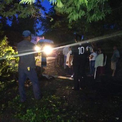 BLOQUEAN CARRETERA EN MIGUEL HIDALGO: Al menos tres comunidades del sur de QR quedan incomunicadas por protesta para exigir destitución de un delegado