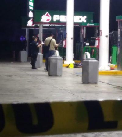Matan a despachador de gasolinacerca del fraccionamiento Misión del Carmen en Playa