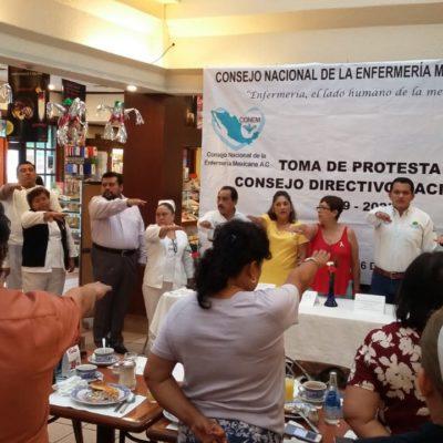CONFORMAN ASOCIACIÓN CIVIL: Enfermeras buscan incursionar también en la política en la vida sindical para dignificar su labor y puedan trascender a otras áreas