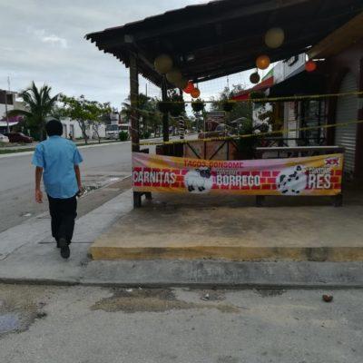 """""""AQUÍ MURIÓ, MÁ"""": Un día después de la balacera contra 'El Fogonazo', en colonia La Guadalupana nadie dice nada, pero el mensaje es """"tenemos miedo"""""""