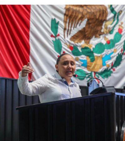 """""""HOY TENEMOS UN QUINTANA ROO HERIDO"""": Con acciones, pide Cristina Torres hacer de nuestro estado un mejor lugar para vivir"""