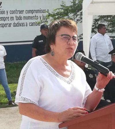 Llama Laura Beristain a diputados a no emitir discursos de odio, tras solicitud de juicio político en su contra