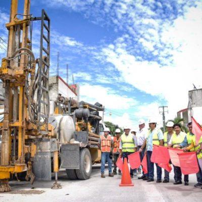 Inicia construcción de 30 pozos de absorción de aguas pluviales en Tulum